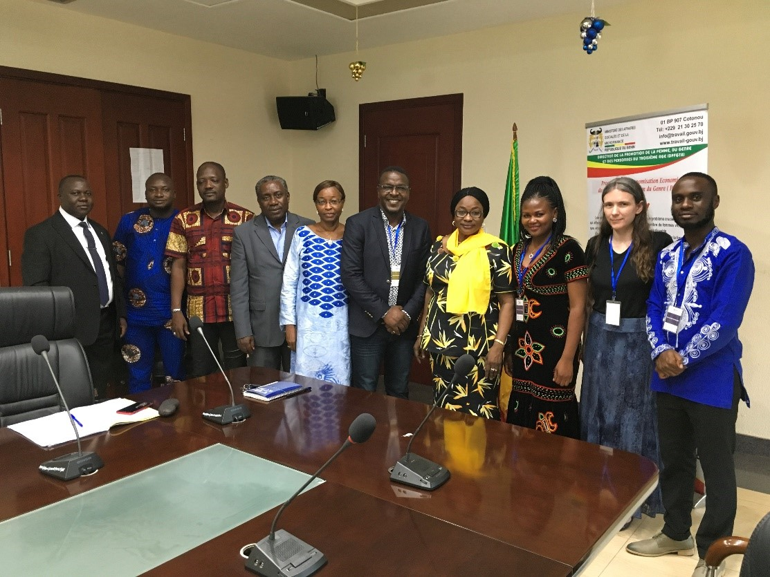 eBASE Initiates Work on Cyber Platform for Mitigating GBV with Ministry of Microfinance and Social Affairs of Republic of Benin  Background